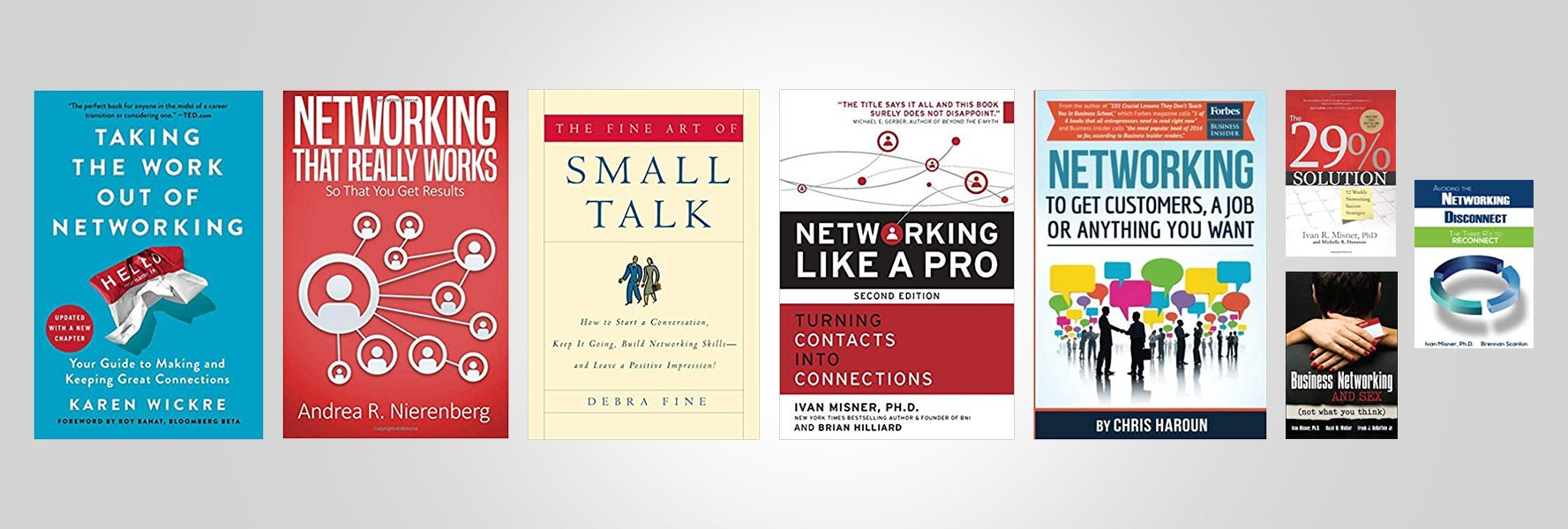Books to help you network better