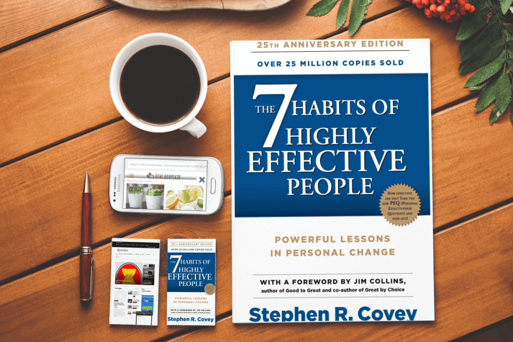 'The 7 Habits of Highly Effective People' — Book by Stephen Covey